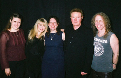 Meeting don henley august 2005 some friends and i all donated to the arizona heart institute because were such great people and want to help heart patients and oh yeah m4hsunfo